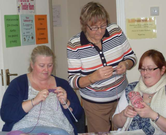 Knitting & Crochet Classes 2011 002